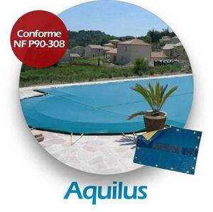 Aquilus Piscines - aaaaaa - Swimmingpoolabdeckung Winter