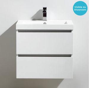 Thalassor - city 60 bianco - Waschtisch Möbel