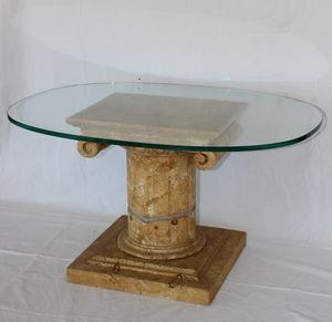 PASQUINI MARINO - classico - Couchtisch Ovale