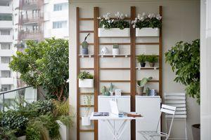 Unopiù - urban balcony - Gestalte Terasse