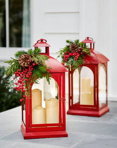 BALSAM HILL - lanterne - Weihnachtswindlicht