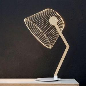 STUDIO CHEHA - ziggi - lampe led effet 3d - Tischlampen