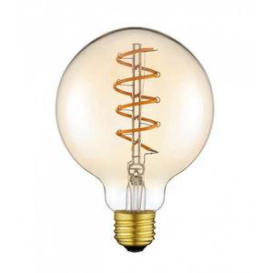 NEXEL EDITION - ampoule led globe ambré 95 mm - Glühbirne Filament