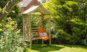 Forest Garden -  - Bank Mit Dach