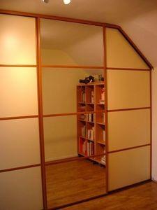 Innov'home France -  - Schranktür Für Dachschrägen