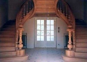 Escaliers Simon -   - Zweiläufge Treppe
