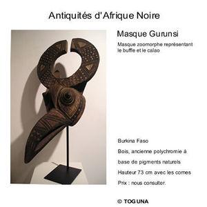 Galerie Toguna -  - Maske Aus Afrika