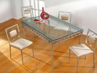 comin'design - table à dîner confidence - Rechteckiger Esstisch