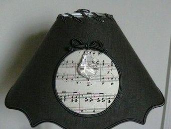 Clair de lune deco - victorine partition - Konischer Lampenschirm