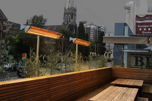 HOT CONCEPT -  - Elektrische Terrassenheizung