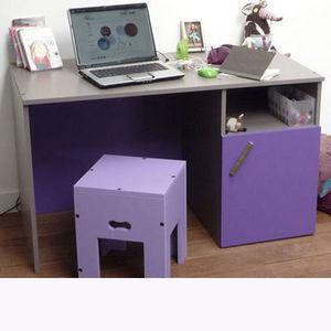 Mie Trampoline - bureau ligne pure - Kinderschreibtisch