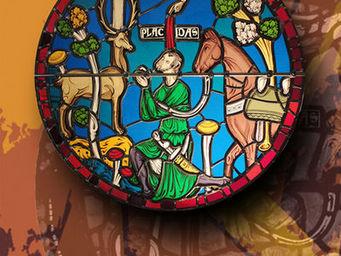 Atelier 1..2..3 vitrail - saint eustache - Buntglasfenster