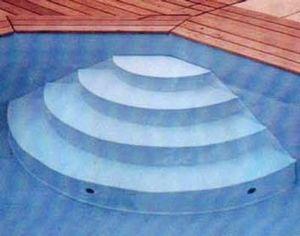 Piscines Arizona Pool - interieur - Swimmingpooltreppe