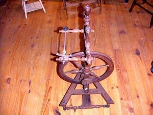 ACI Antiquités -  - Spinnrad