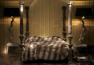 GUSTAVE & LOUIS - gustavien - Doppel Säulenbett