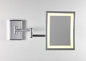 Miroir Brot - square lm-bd - Beleuchteter Spiegel