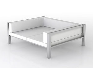 swanky design - rok day bed 3 sides - Gartensofa