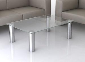 swanky design - manhattan coffee table - Rechteckiger Couchtisch