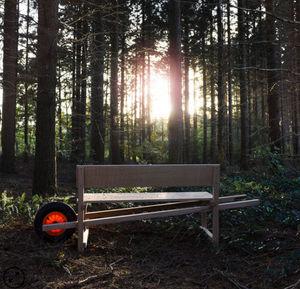 WELTEVREE - wheelbench - Gartenbank