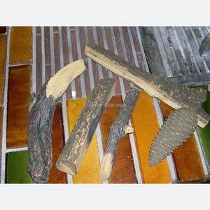 deko-flammes - bûches décoratives céramique centaure pour cheminé - Falsches Holzscheit