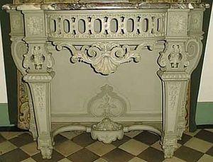 Antiquités ARVEL - paire de consoles de style régence, xixè - Konsolentisch