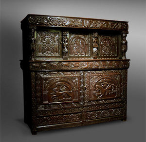 COUNTRY ANTIQUES -  - Zweiteiliges Buffet