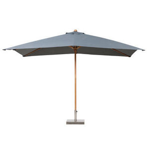 Maisons du monde - parasol rectangle gris oléron - Sonnenschirm