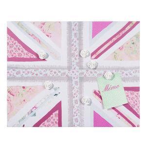 Maisons du monde - pêle-mêle pink uk flag - Multirahmen