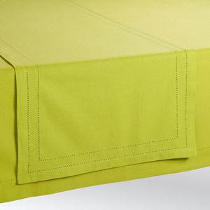MAISONS DU MONDE - chemin de table uni vert - Tischläufer