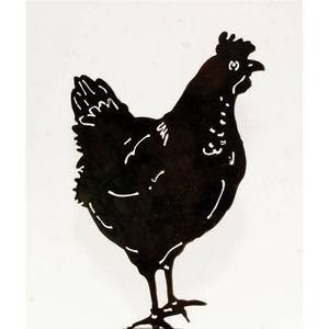 Jouvenaud Girouettes & Luminaires - accessoire de décoration jardin poule - Gartenschmuck