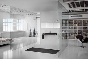 Eingebautes Duschbecken