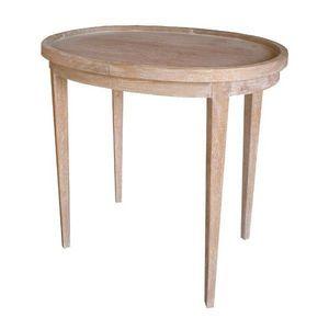 DECO PRIVE - table a the en bois ceruse - Nachttisch