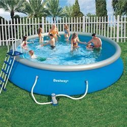 Bestway - piscine fast set 549 x122 cm - Schwimmbad Mobil