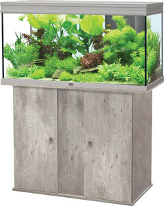 ZOLUX - ensemble aquarium aqua elegance 3 imitation béton  - Aquarium