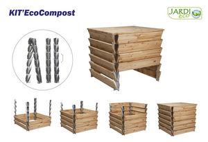 jardieco - kit eco compost structure pour bac à compost - Kompost