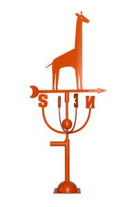 Aubry-Gaspard - girouette design girafe orange - Wetterfahne