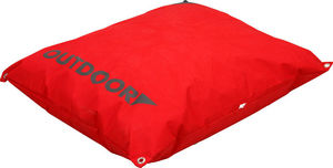 ZOLUX - coussin extérieur déhoussable rouge 90x70x12cm - Hundebett
