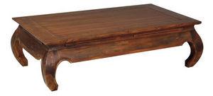 Aubry-Gaspard - table basse opium - Rechteckiger Couchtisch