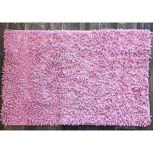 TODAY - tapis salle de bain à mèche lilas - Badematte