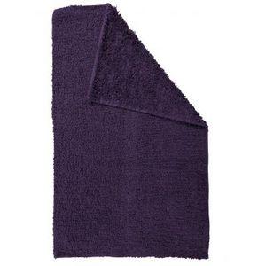 TODAY - tapis salle de bain reversible - couleur - violet - Badematte