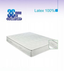 ECO CONFORT - matelas eco-confort 100% latex 7 zones 90*190*22 - Latexmatratze