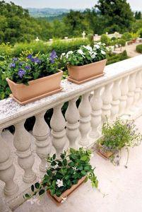 DEROMA France - white garden - Blumenkasten