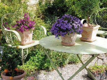 DEROMA France - olive - Garten Blumentopf