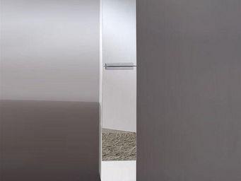 UsiRama.com - colonne de salle de bain design avec 2m blanc - Badezimmerschrank