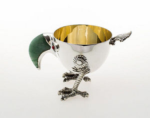 TSAR IMPERIAL - bird cup - Deko Schale