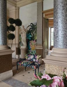 Christian Lacroix -  - Gepolsterte Bank