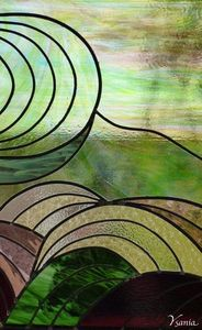 IRISATIONS - Design Ysania -  - Buntglasfenster