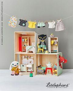 LITTLEPHANT -  - Puppenspielzeug