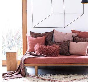 Maison De Vacances - chenille samarkand soft washed - Rechteckige Kissen