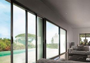 SWAO -  - Schiebeglasfensterfront